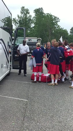 Patriots Loading the Bus