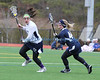 Patchogue NY: St. Joseph's College Women's Lacrosse vs Wesley (March 3rd, 2013) <br /> Photo by Daniel De Mato
