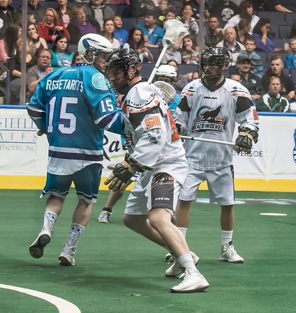 20150425 Knighthawks vs Black Wolves