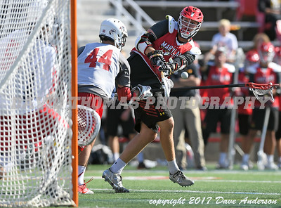 Stony Brook vs Maryland Men's DI Lacrosse Fallball at Stony Brook University October 21, 2017