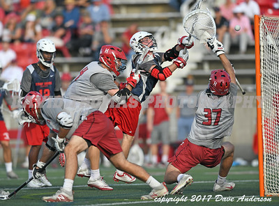 Stony Brook vs Harvard Men's DI Lacrosse Fallball at Stony Brook University October 21, 2017