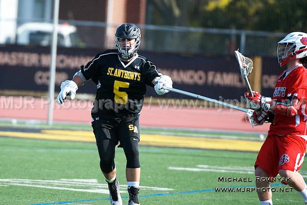 Lacrosse, Boys JV, 04-14-15 #05 St Anthonys Vs St johns