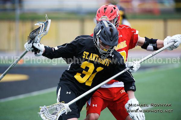 Lacrosse, Boys JV, 04-14-15 #31 St Anthonys Vs Chaminade