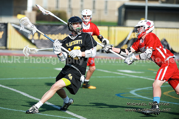 Lacrosse, Boys JV, #13 St Anthonys Vs St johns 04.21.15