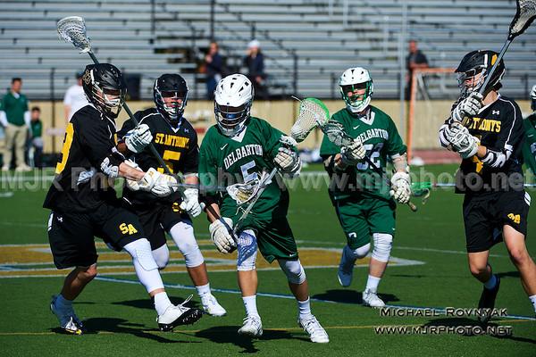 Lacrosse, Boys JV, #5 Delbarton  vs  St Anthonys 2015-04-11