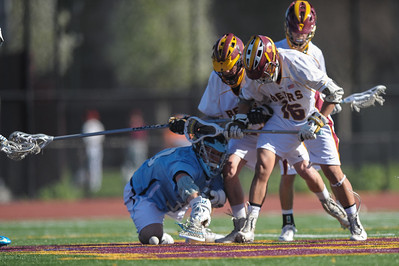 Menlo-Atherton High School Boys Varsity  Lacrosse vs. Bellarmine College Preparatory, March 13, 2014