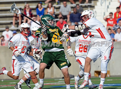 Section XI Class A Boys lacrosse Final.  Ward Melville vs Smithtown East.  East wins in 2OT 11-10.