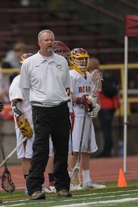 Menlo-Atherton High School Boys Varsity Lacrosse vs. Burlingame, March 25, 2014