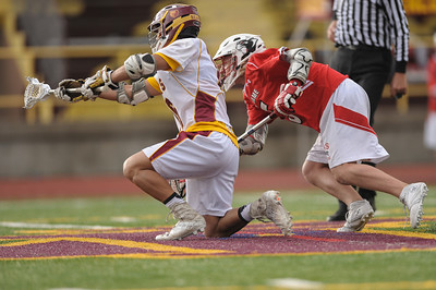 Menlo-Atherton High School Boys Varsity Lacrosse vs. Burlingame, March 25, 2014