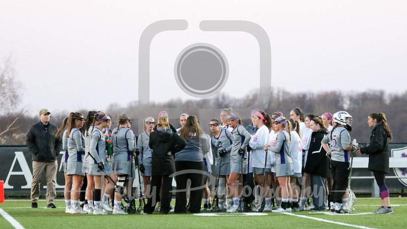Holy Cross Team Huddle