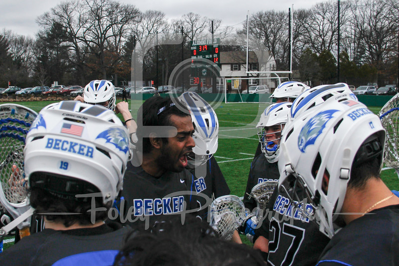 Wednesday, March 1, 2017; Newton, MA;  during the Mustangs 20-6 victory over the Hawks.