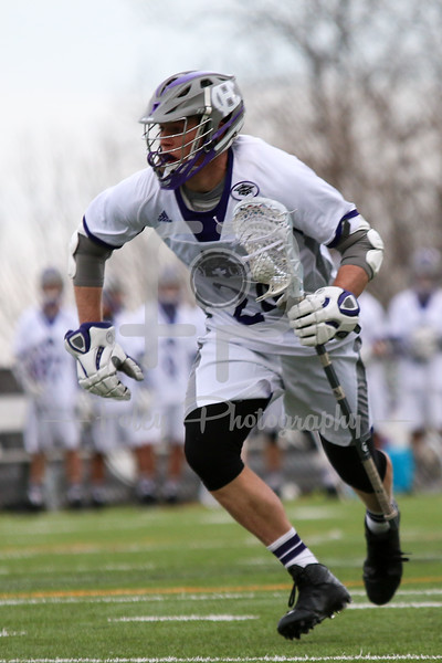 Holy Cross Crusaders midfielder Matthew Fischetti (24)