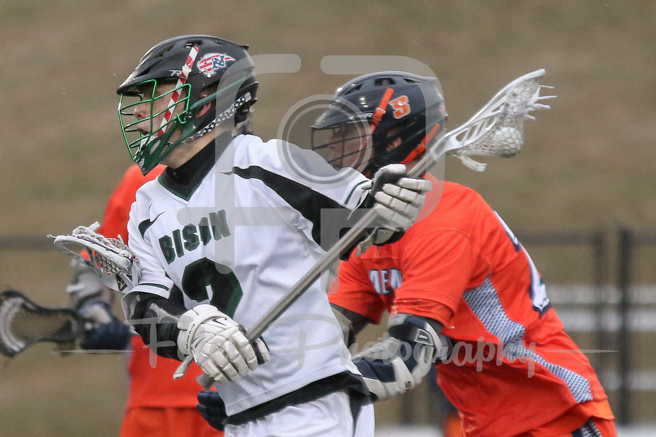 Nichols College Bison midfielder Paul Tessier (2)
