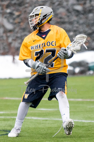 Wheelock College Wildcats Keenan Brown (22)