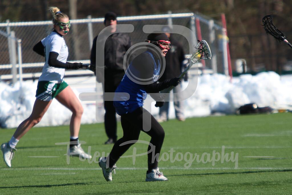 Becker College Hawks attack/midfielder Taryn Flebbe (13)