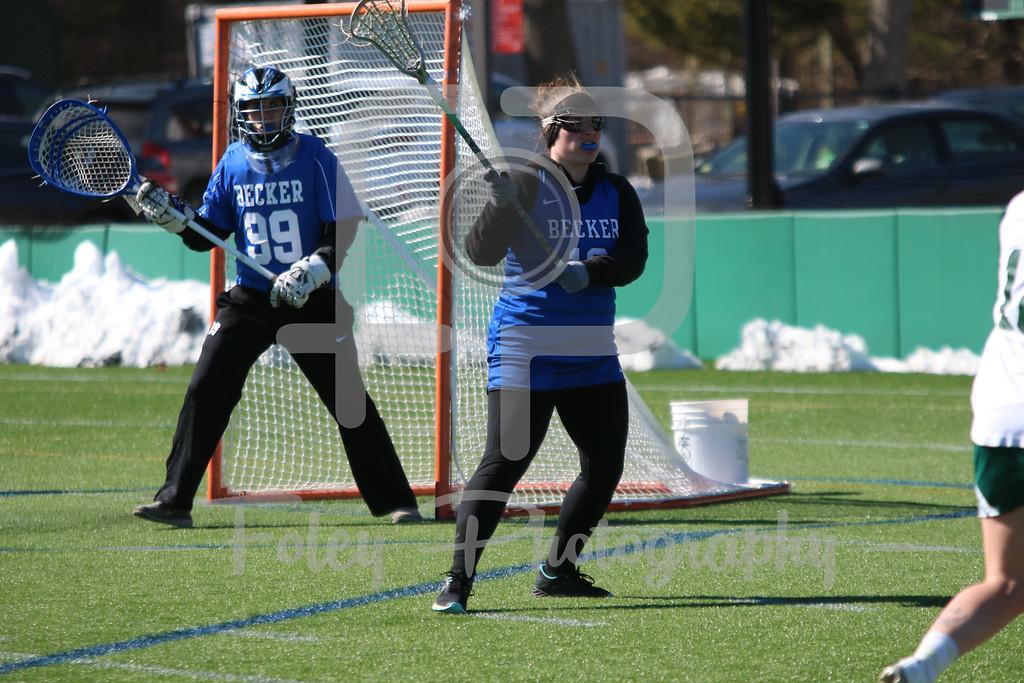 Becker College Hawks defender Arianne Chipman (12)