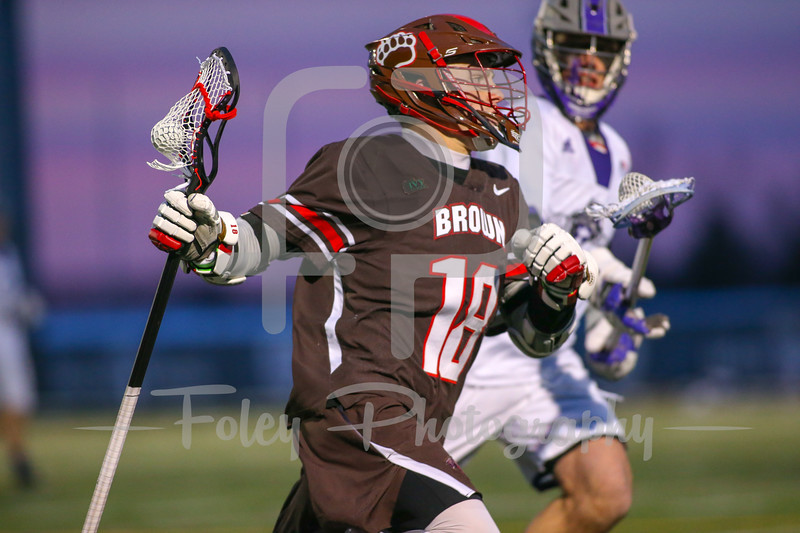 Brown at Holy Cross