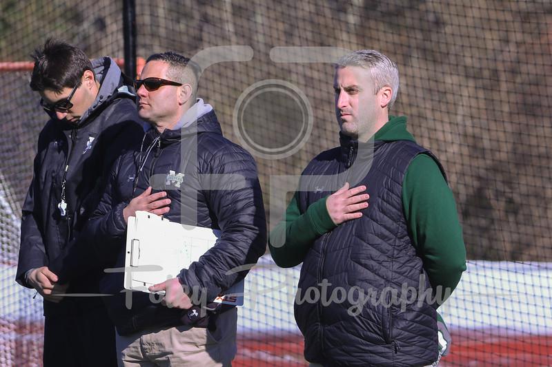 Manhattan Jaspers head coach Drew Kelleher