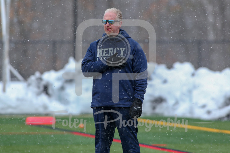 March 10,2018; Manchester, New Hampshire, United States;  during a non conference game between Mercy College and Southern New Hampshire University at Penmen Stadium. Photo: © Brian Foley for Foley-Photography.com.