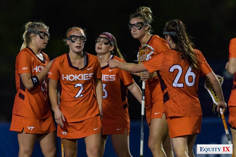 UNC vs VA Tech - ACC Women's Lacrosse Championship - Semifinals - 2018 - NCAA Women's Lacrosse © Equity IX - SportsOgram - Leigh Ernst Friestedt - ZyGoSports