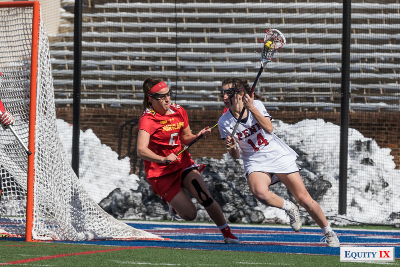 Undefeated #8 Penn Falls to #2 Maryland