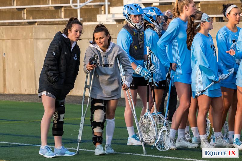 Stony Brook vs Johns Hopkins - 2018 - NCAA Women's Lacrosse © Equity IX - SportsOgram - Leigh Ernst Friestedt - ZyGoSports