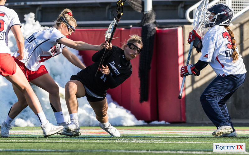 #1 Stony Brook Stays Strong to Defeat #10 Towson - NCAA Women's Lacrosse