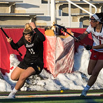 #1 Carolyn Carrera - Stony Brook<br /> #11 Natalie Sulmonte - Towson<br /> <br /> Head Injury - Concussion<br /> <br /> NCAA Women's Lacrosse<br /> Stony Brook (13) vs Towson (8)<br /> March 17, 2018