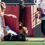 #11 Natalie Sulmonte - Towson<br /> #31 Anna Tesoriero - Stony Brook<br /> <br /> Injury - Sports Injury<br /> <br /> NCAA Women's Lacrosse<br /> Stony Brook (13) vs Towson (8)<br /> March 17, 2018