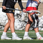 Knee Injury<br /> NCAA Women's Lacrosse<br /> Stony Brook (13) vs Towson (8)<br /> March 17, 2018