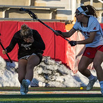 #11 Natalie Sulmonte - Towson<br /> #1 Carolyn Carrera - Stony Brook<br /> <br /> Head Injury - Concussion<br /> <br /> NCAA Women's Lacrosse<br /> Stony Brook (13) vs Towson (8)<br /> March 17, 2018