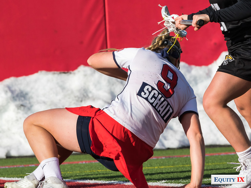 #9 Emma Schait - Stony Brook NCAA Women's Lacrosse Stony Brook (13) vs Towson (8) March 17, 2018