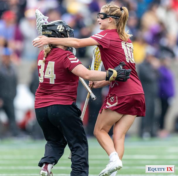 Lauren Daly - Carly Bell - Boston College - 2018 NCAA Women's Lacrosse Championship
