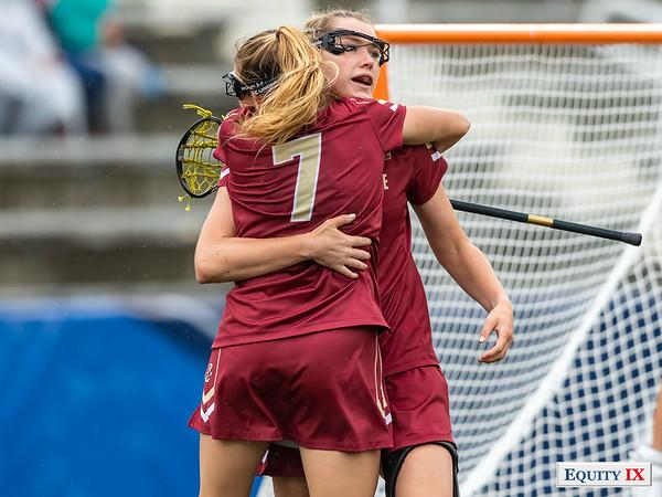 Tess Chandler - Kaileen Hart - Boston College - 2018 NCAA Women's Lacrosse Championship