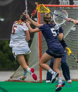 2018 NCAA Women's Lacrosse Quarter Finals - Maryland vs Navy (May 19, 2018)