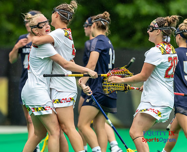 2108 NCAA Women's Lacrosse Quarter Finals - Maryland (17) vs Navy (15) - May 19, 2018