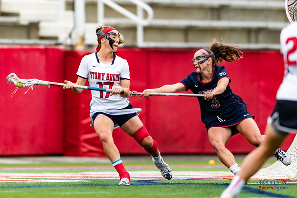 Stony Brook (18) vs UPenn (5) - 2018 NCAA Women's Lacrosse Tournament - 2nd Round © Equity IX - SportsOgram - Leigh Ernst Friestedt