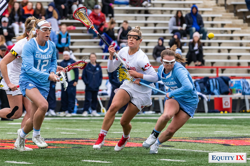 Maryland vs UNC - NCAA Women's Lacrosse