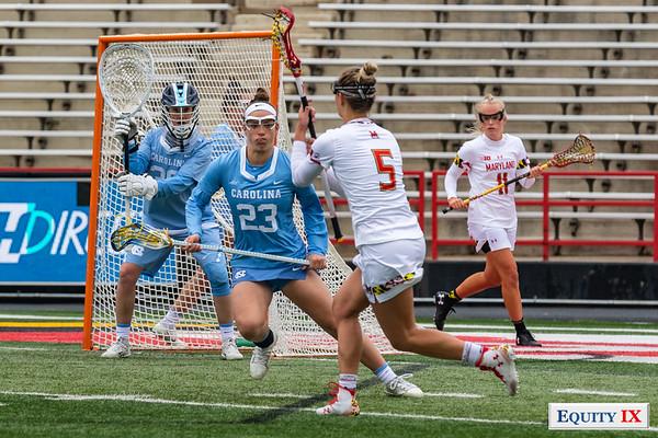 Maryland vs UNC - NCAA Women's Lacrosse