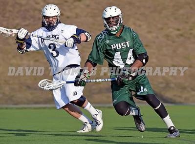 Dowling vs Post Univrsity Men's Lacrosse