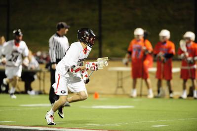 Georgia Beats Florida Mens Lacrosse 2012