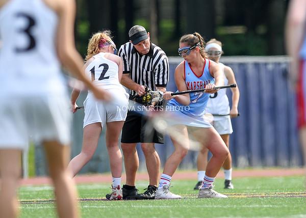 AW Girls Lacrosse Marshall vs Potomac Falls-1