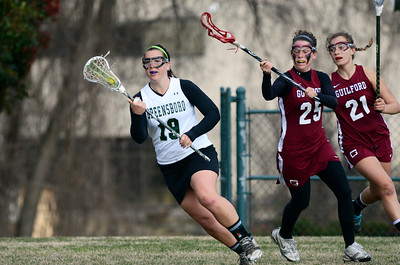 Guilford College vs Greensboro College Ladies Varsity Lacrosse 2013