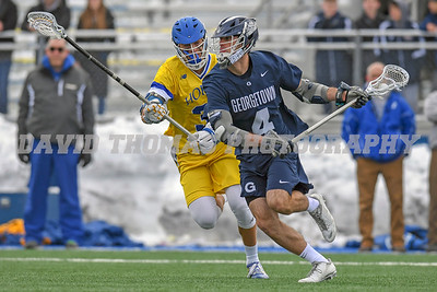 #20 Georgetown has a day with Hofstra today defeating them 14-6.  Georgetown Danny Bucaro (4) tallies 3 goals and 3 assists for the Hoyas.