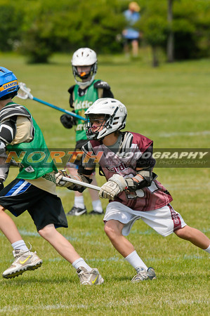 (5th Grade Boys) GardenCity Maroon vs. Celtic LAX MW