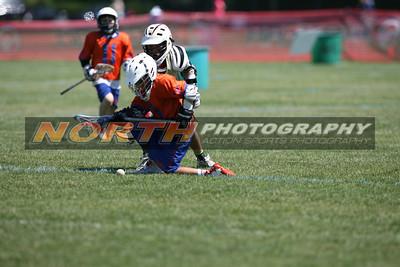 6/16/2012 - 4th Grade Boys - Manhasset Orange vs. Viper Lax (LP7)