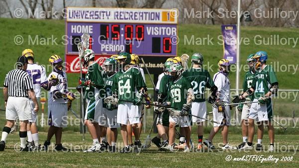 Lacrosse - LSU v Tulane 2008