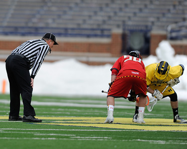 Michigan vs Terps Refs
