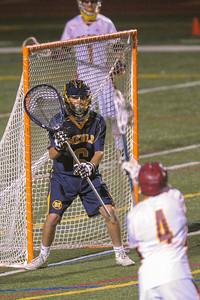 Menlo-Atherton High School Boy's Varsity Lacrosse vs. Menlo Prep, May 5, 2015