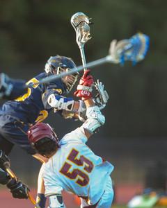 Menlo-Atherton High School Boy's JV Lacrosse vs. Menlo Prep, May 5, 2015